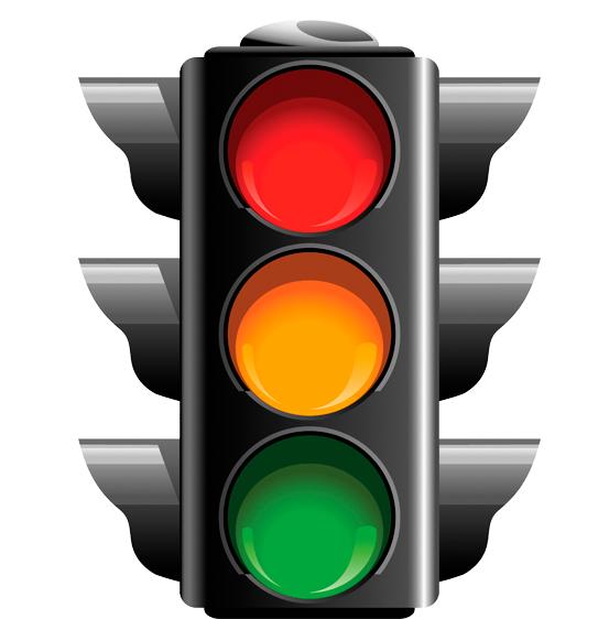 На какой цвет можно переходить дорогу?
