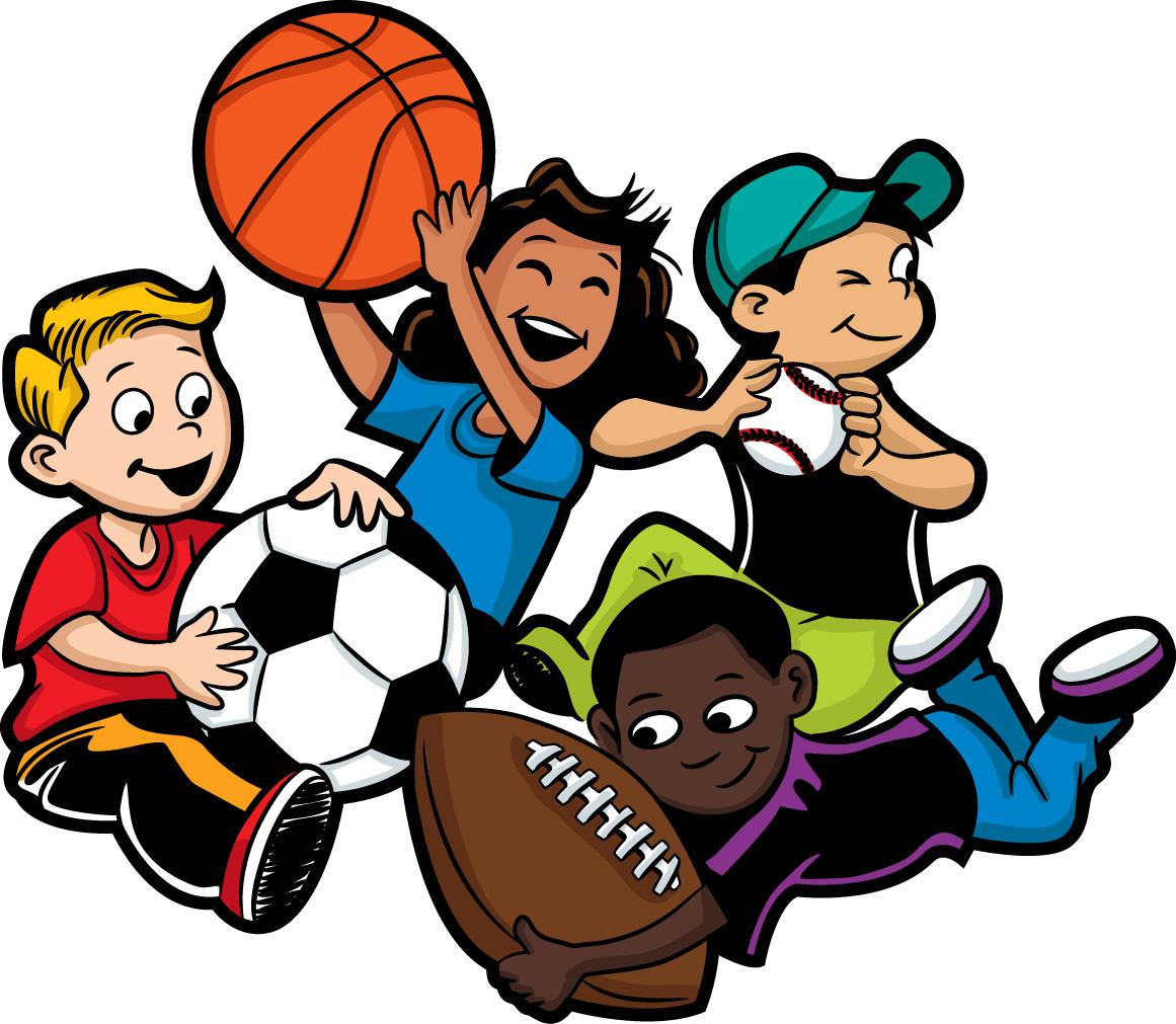 Детские картинки люди спорт