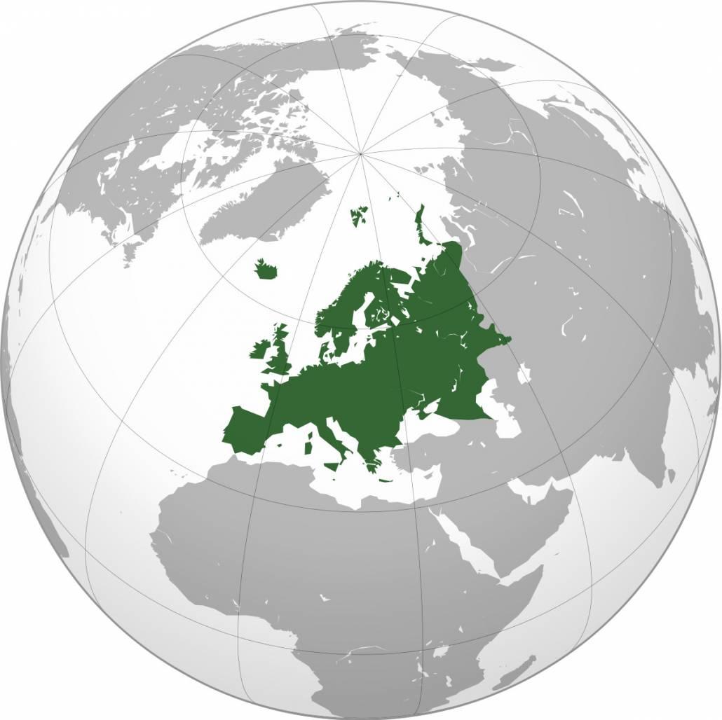 В Европе