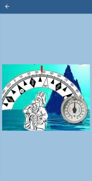 95. Как должен ответить рулевой матрос на вопрос лоцмана - What is your heading? - в ситуации показанной на рисунке