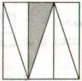 Отметь, какая часть квадрата закрашена.