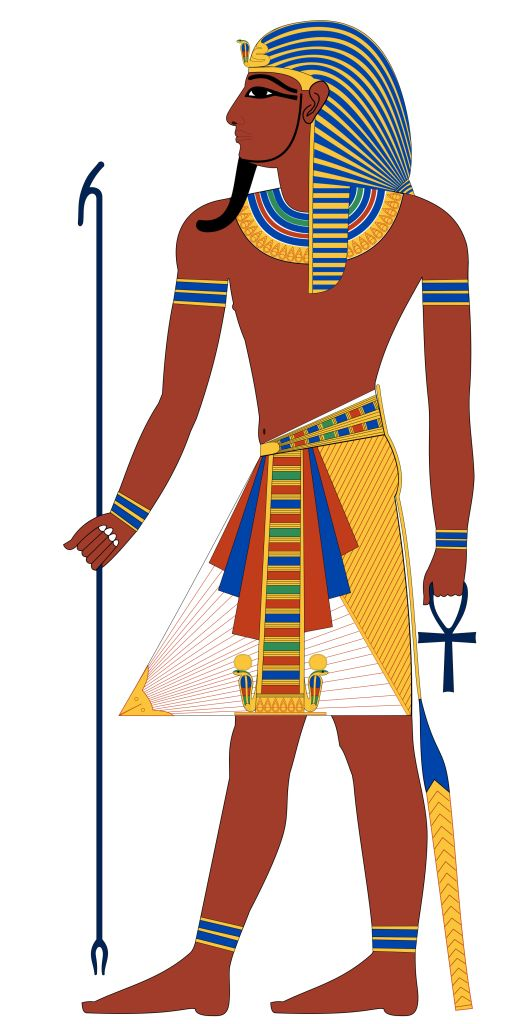 Во главе объединнного египетского государства стоял...