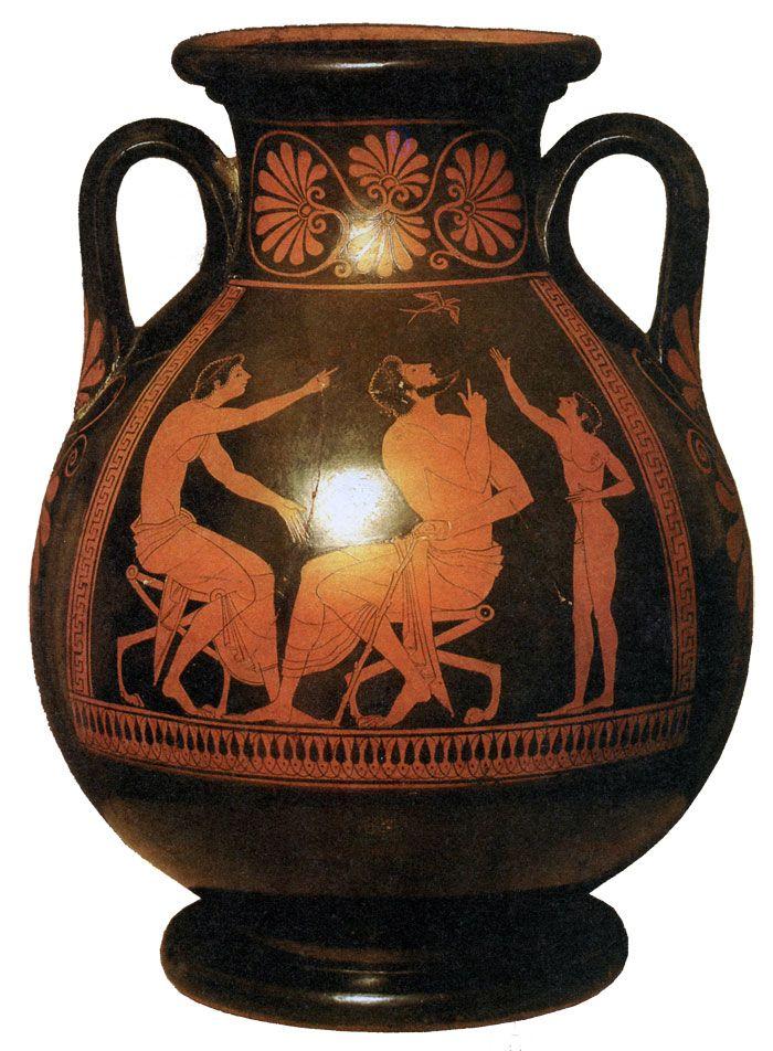 Краснофигурная вазопись
