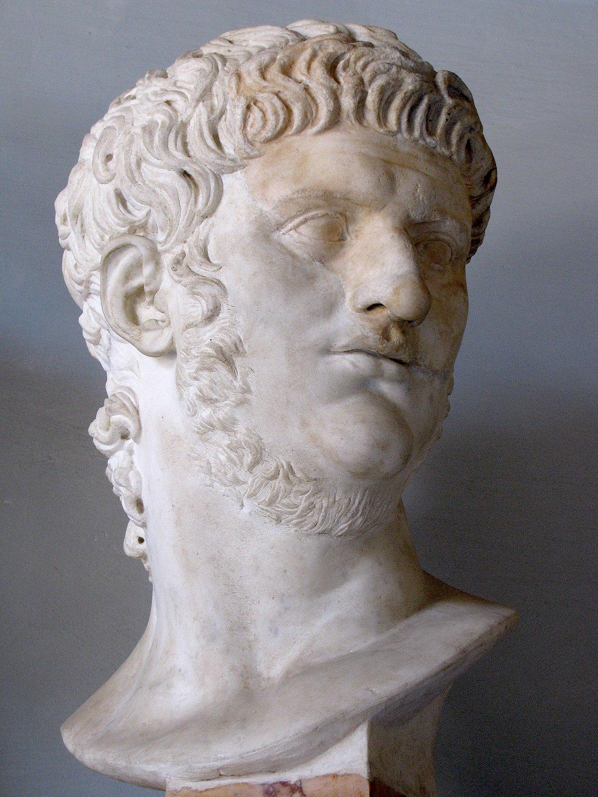 Портрет императора Нерона