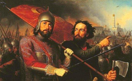 Первое и Второе ополчения; освобождение Москвы от польско-литовских войск