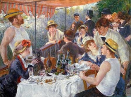 Это одна из самых знаменитых картин Огюста Ренуара. Как она называется?