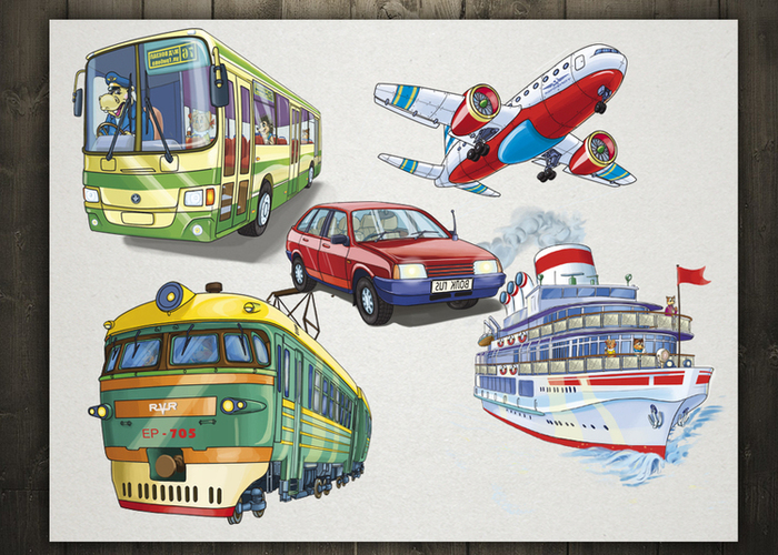 Что не относится к городскому транспорту?