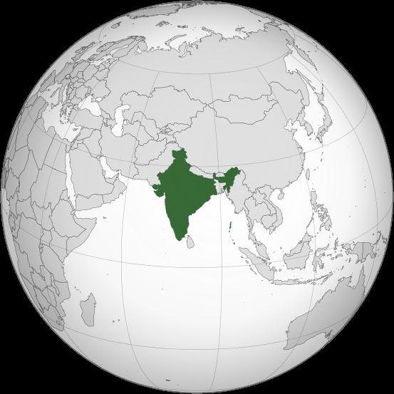 В Южной Азии