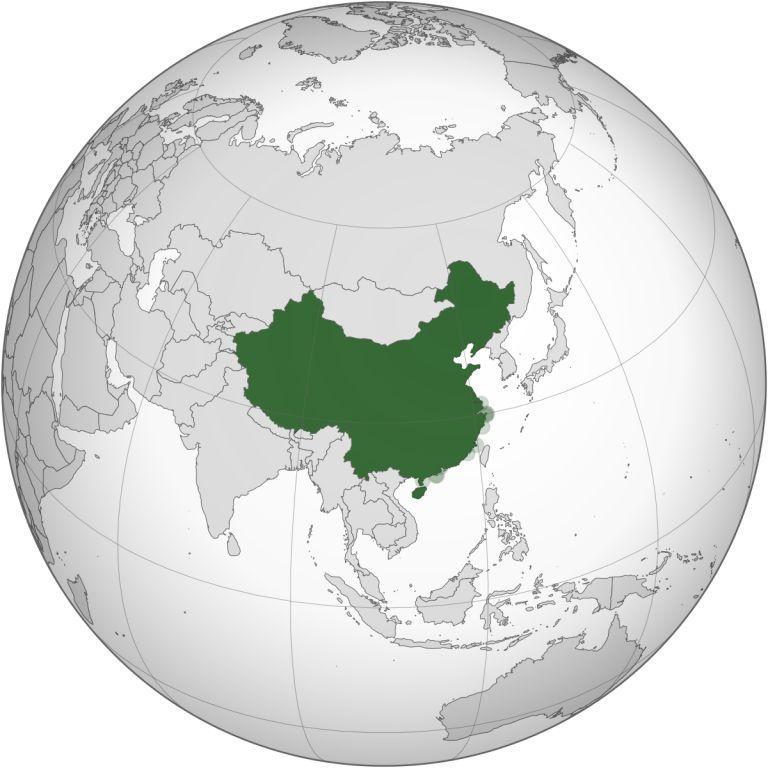 В Восточной Азии
