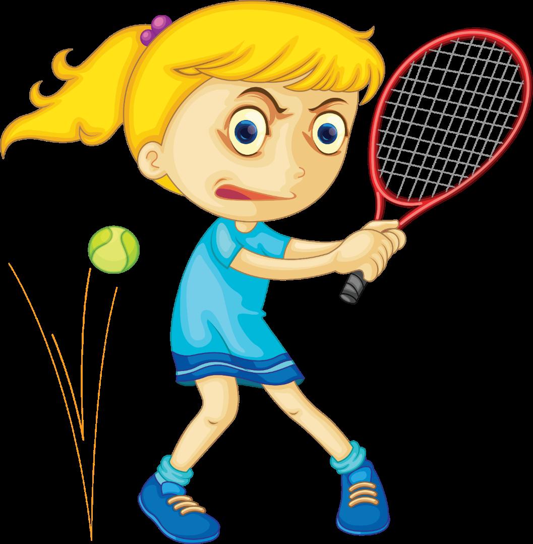 При игре в теннис в нее нельзя попадать мячом