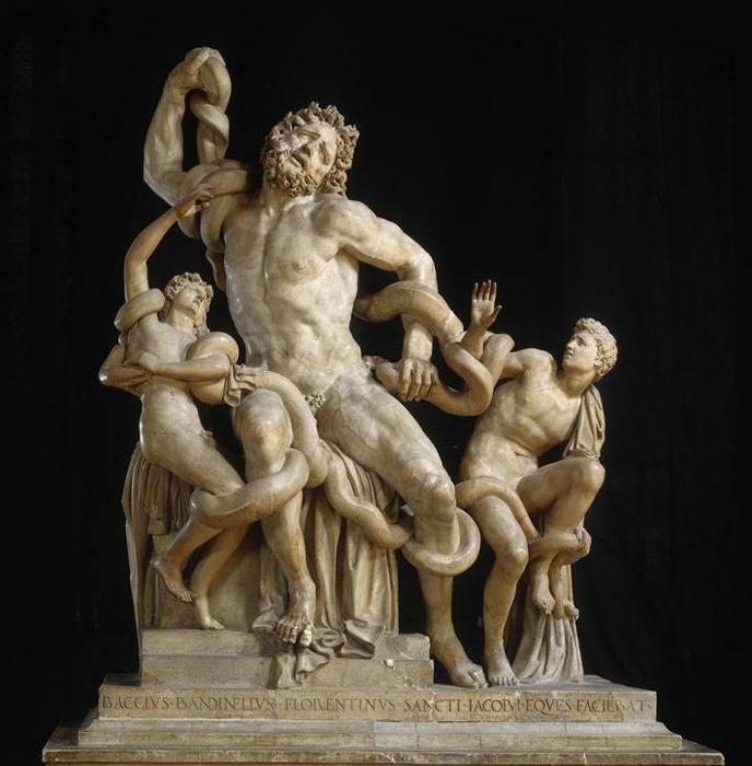 Агесандр, Полиодор, Антеодор Лаокоон с сыновьями