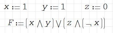 5) Результат логического выражения равен