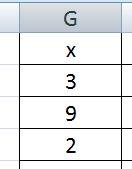 19) Вычислите (в Excel) вес (в %) значения х из ячейки G3