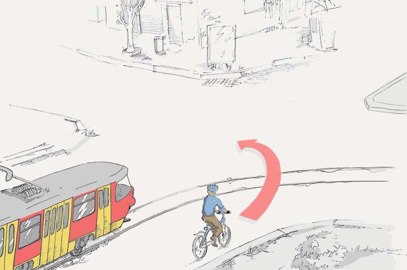 Можно ли велосипедисту повернуть налево?