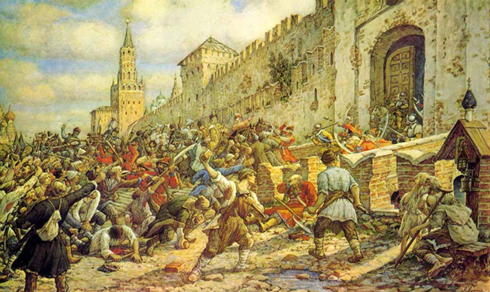Соляной бунт в Москве