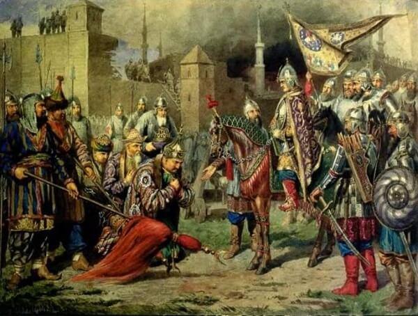 взятие русскими войсками Казани