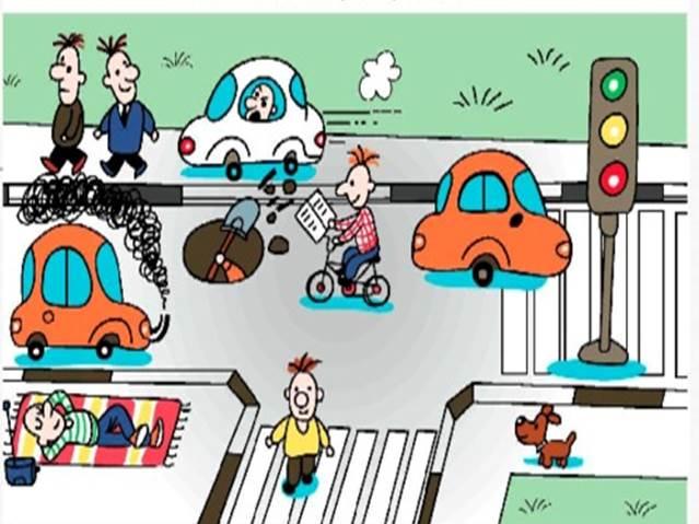 Кто не относится к участникам дорожного движения